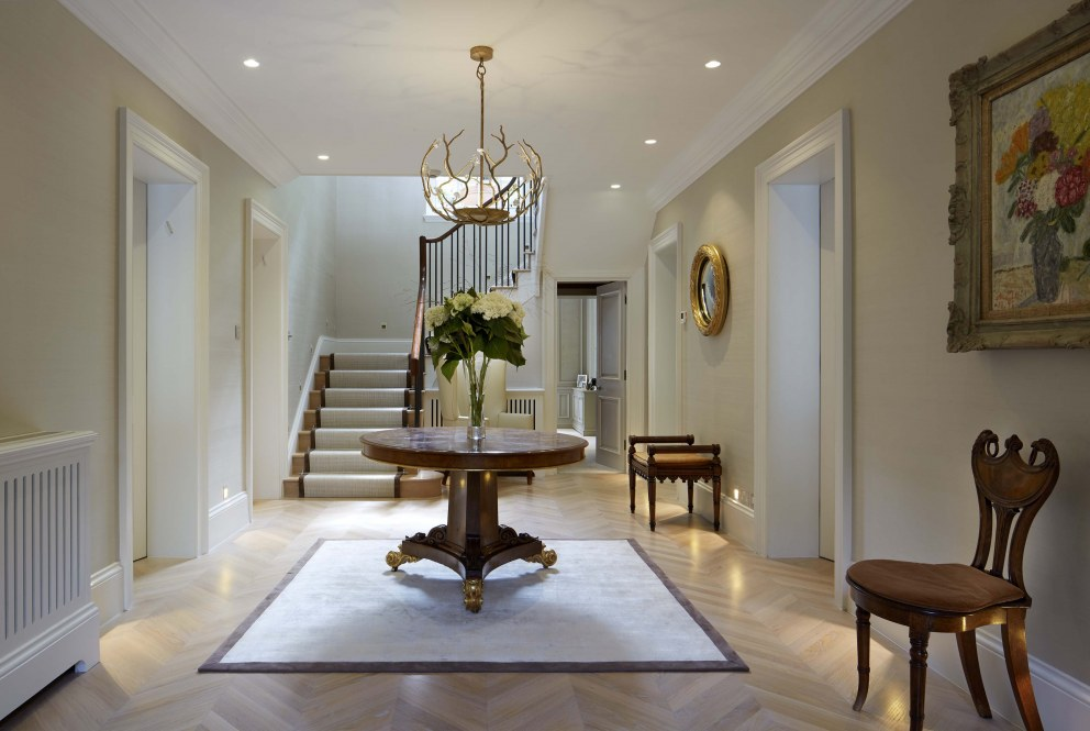 Sussex Traditional Home | Entrance Hall | Interior Designers
