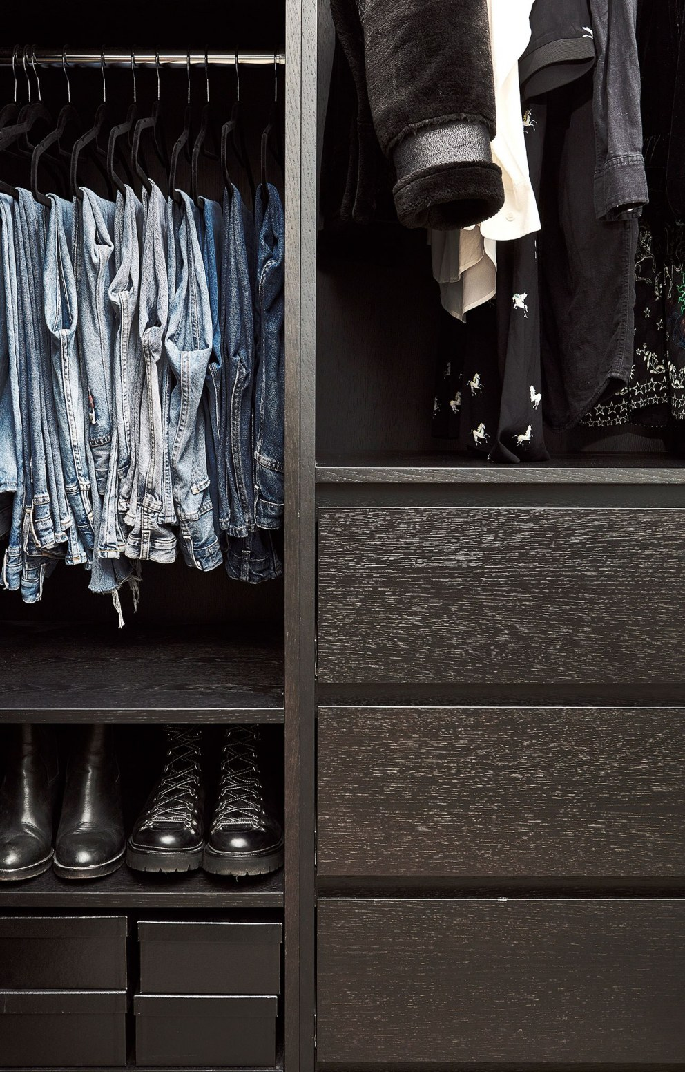Abbeyville Road | Walk in wardrobe detail | Interior Designers