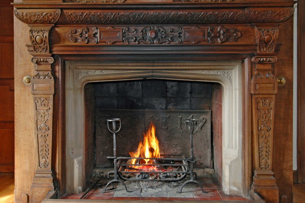 West Sussex Country Estate House | Lounge Fireplace | Interior Designers