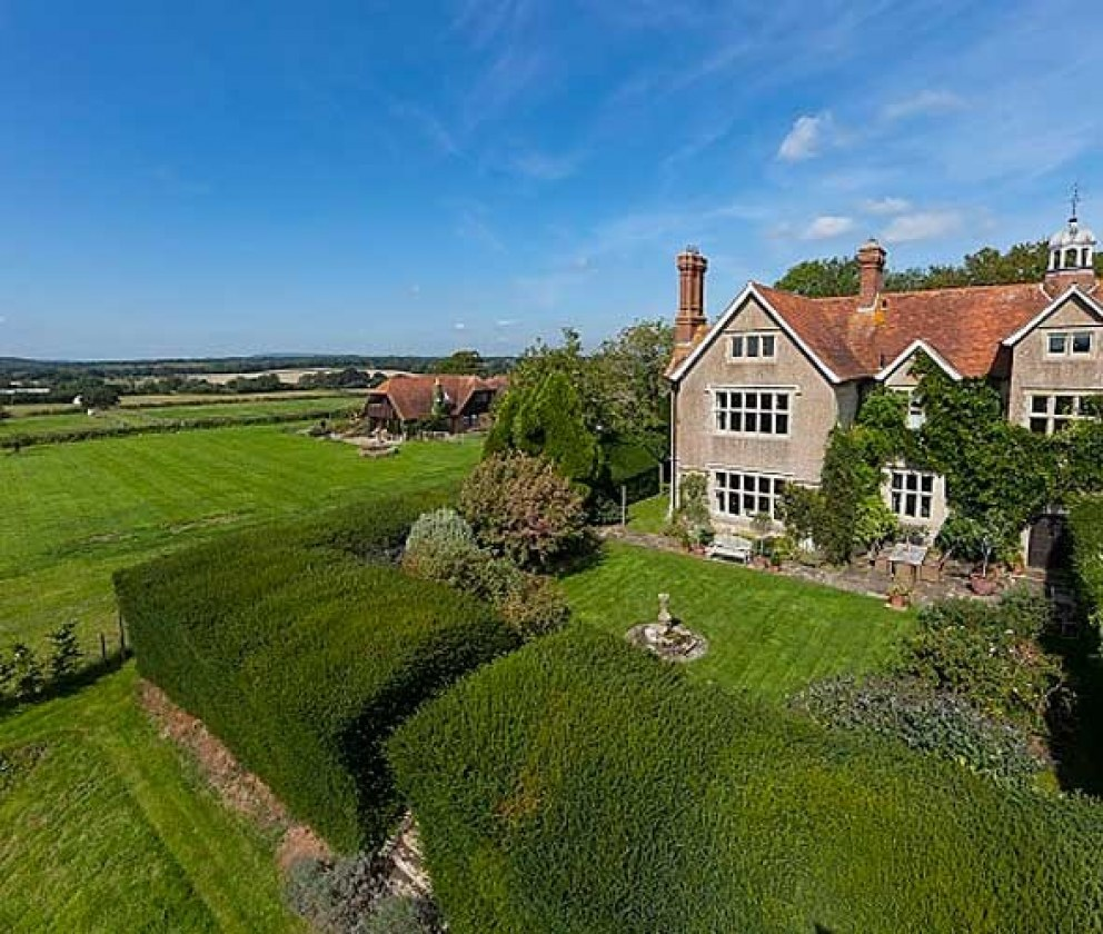 West Sussex Country Estate House | Outdoor View | Interior Designers