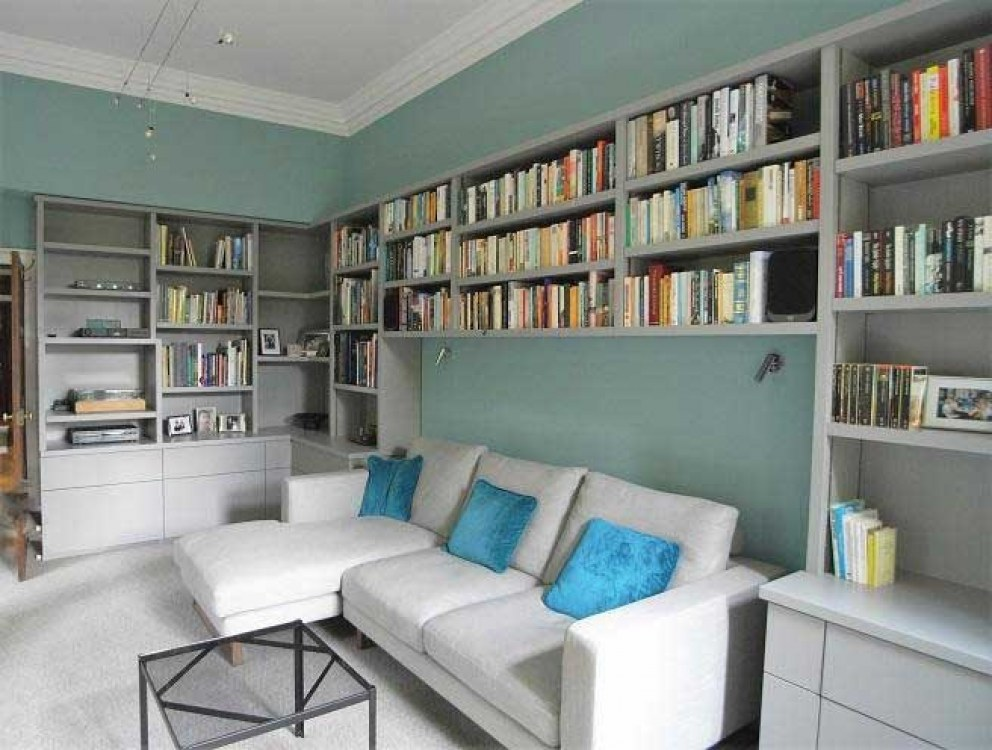 West Sussex Country Estate House | Library | Interior Designers
