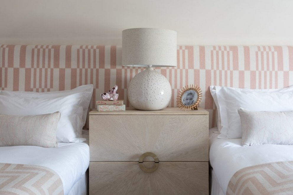 Richmond Chase  | Girl's Bedroom Headboard  | Interior Designers