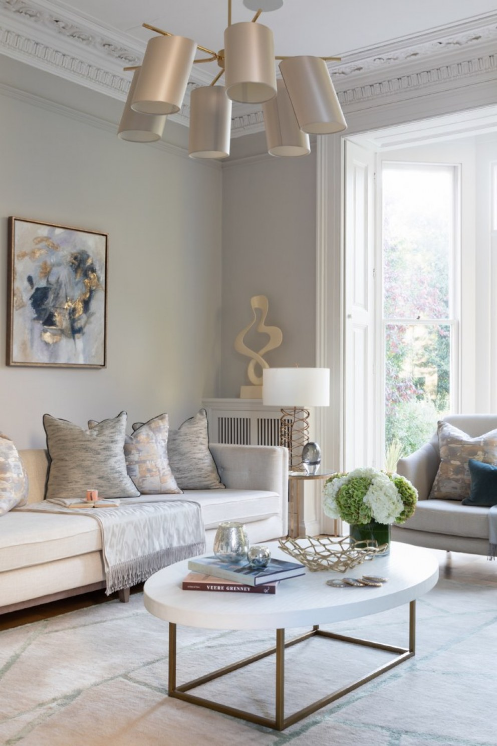Lincolnshire Townhouse  | Sitting room portrait | Interior Designers