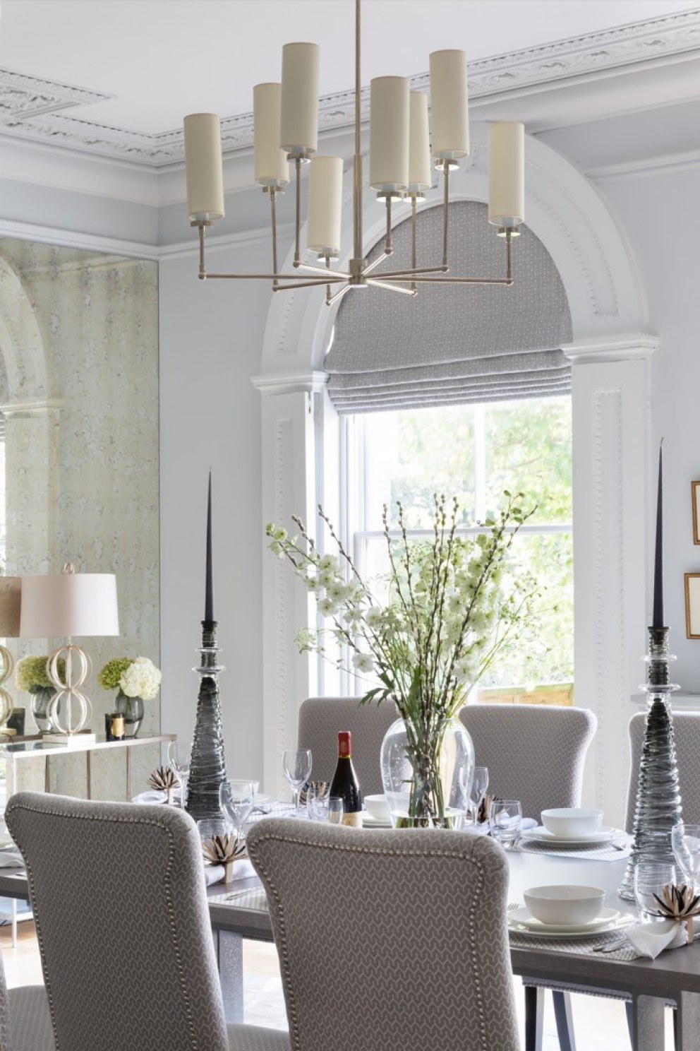 Lincolnshire Townhouse  | Dining room details | Interior Designers