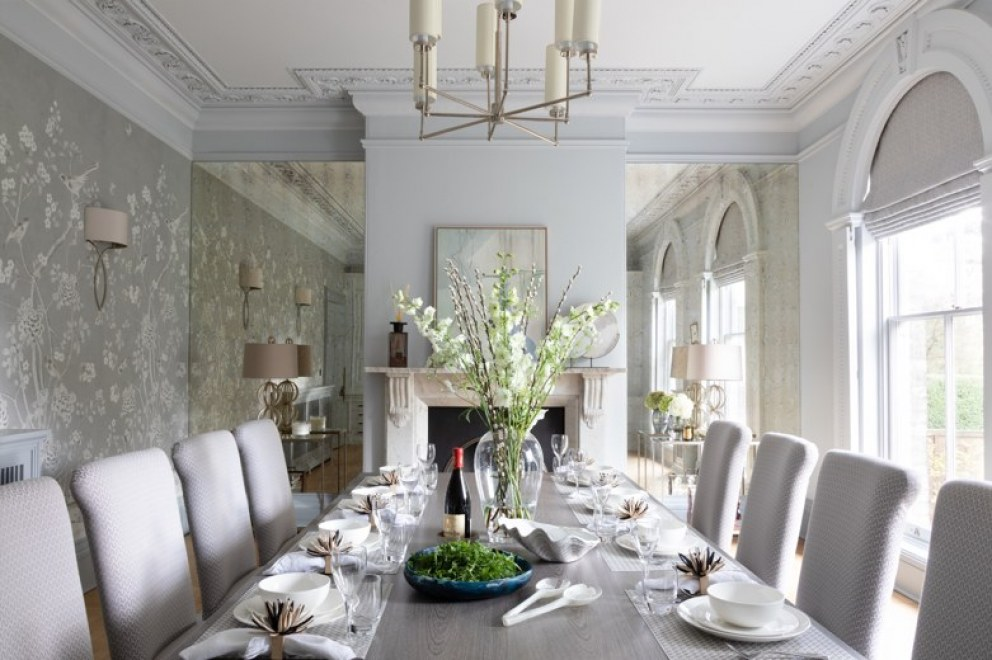 Lincolnshire Townhouse  | Dining landscape | Interior Designers