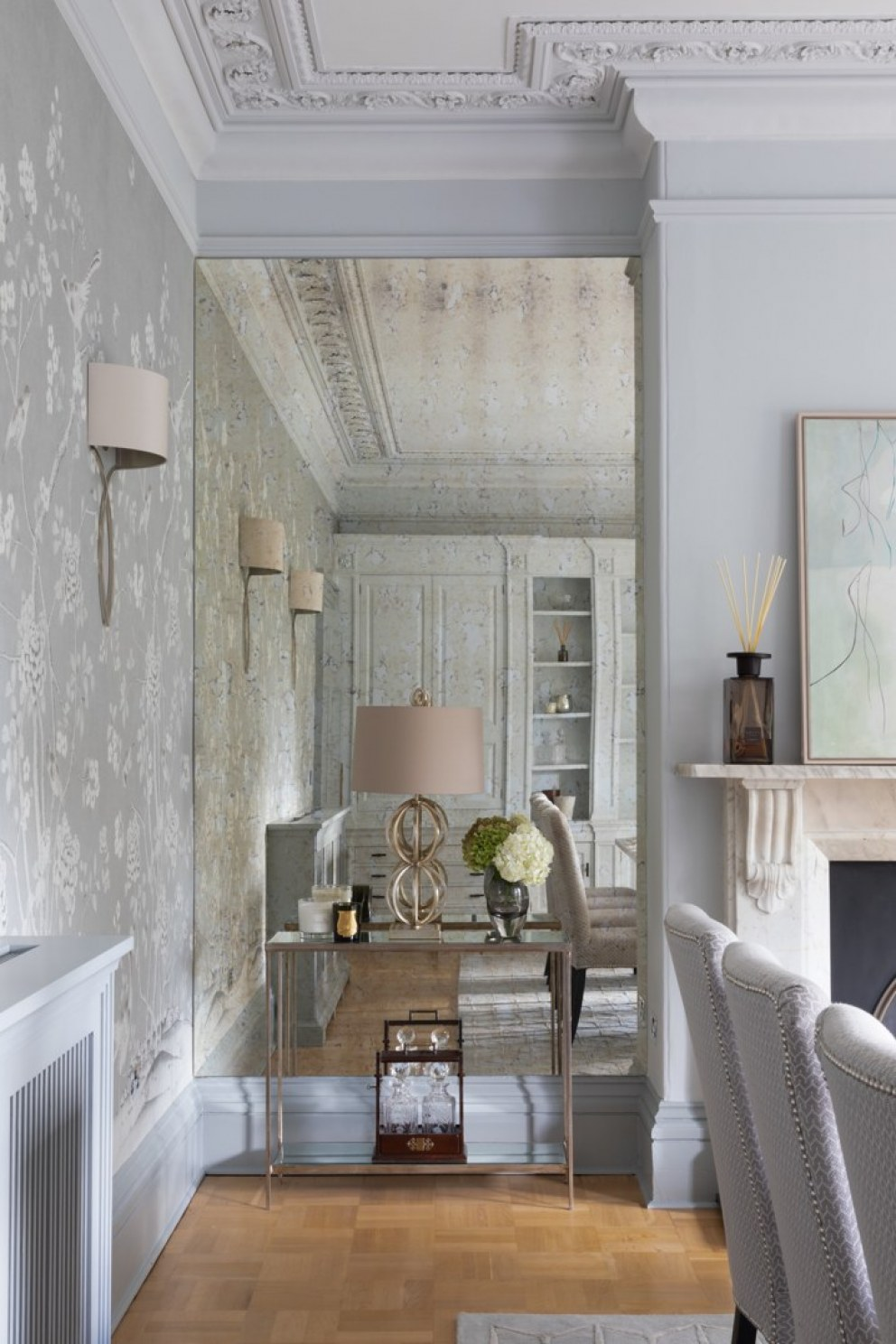 Lincolnshire Townhouse  | Dining Room niche  | Interior Designers