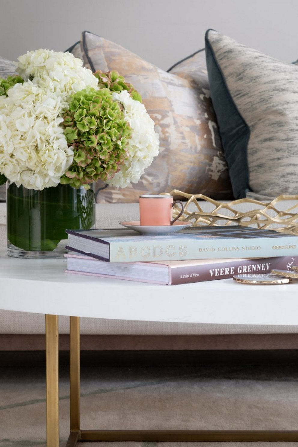 Lincolnshire Townhouse  | Coffee table details | Interior Designers