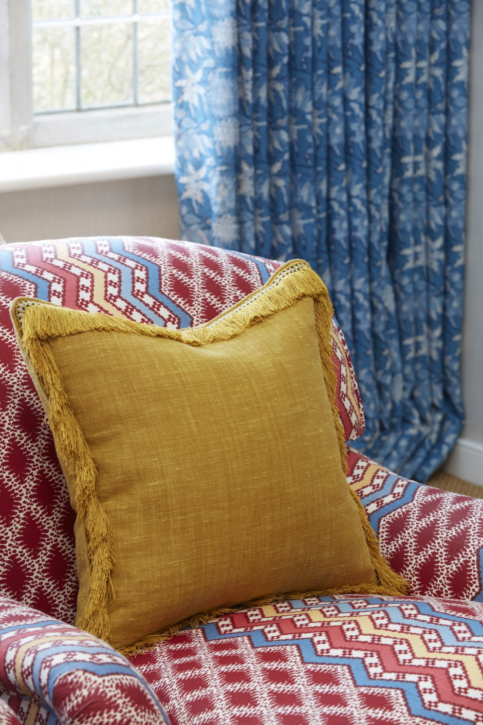 Gloucestershire House | Cushion Detail | Interior Designers