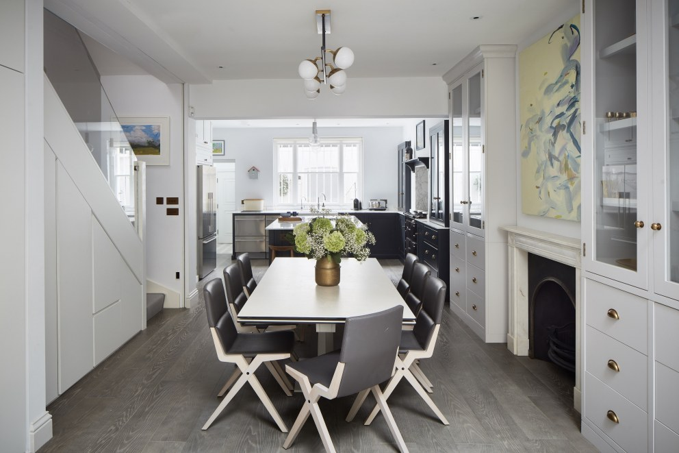 Belgravia Townhouse | Kitchen and Dining Room | Interior Designers