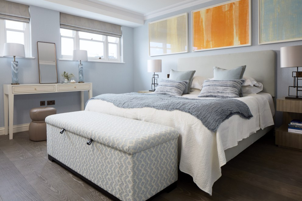 Belgravia Townhouse | Master Bedroom | Interior Designers