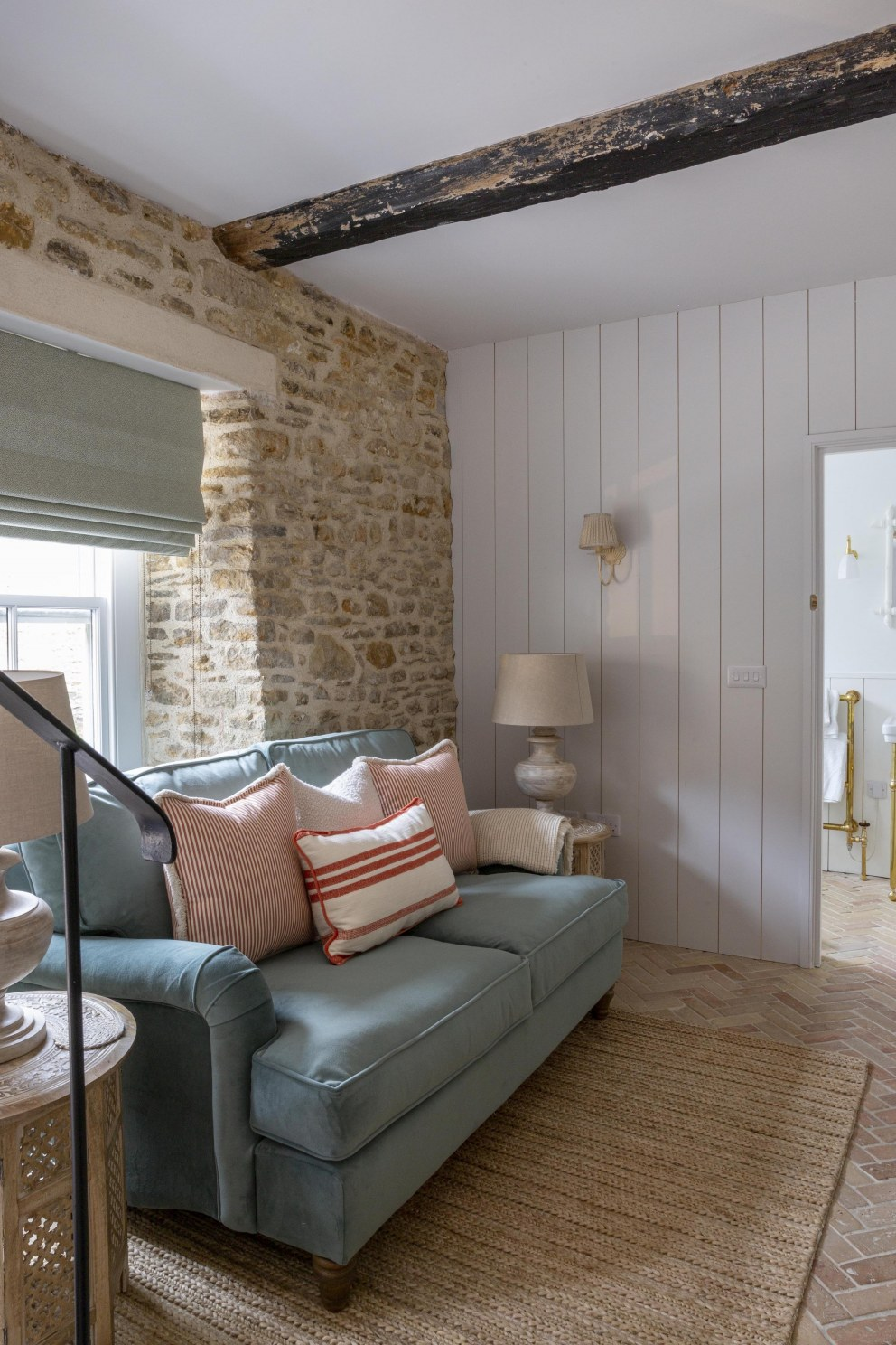 The Cottages, Number One Bruton | A cosy corner | Interior Designers