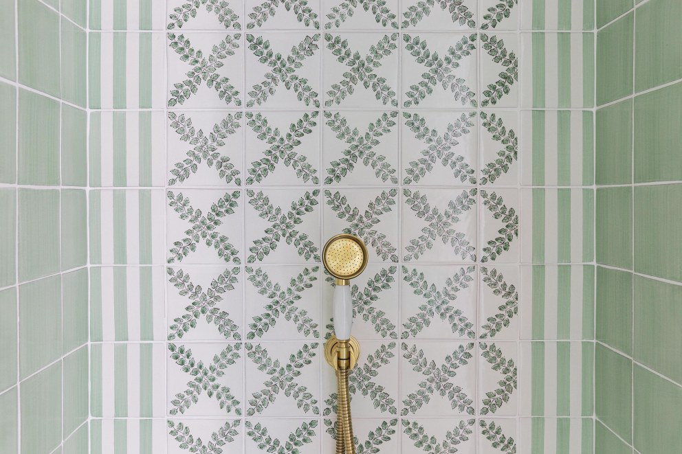 Number One Bruton | Shower detail | Interior Designers