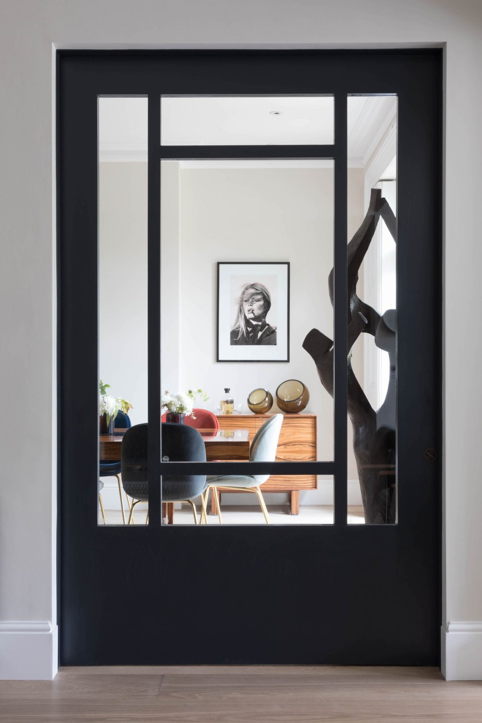 Hampstead III | View to dining room - doors closed | Interior Designers