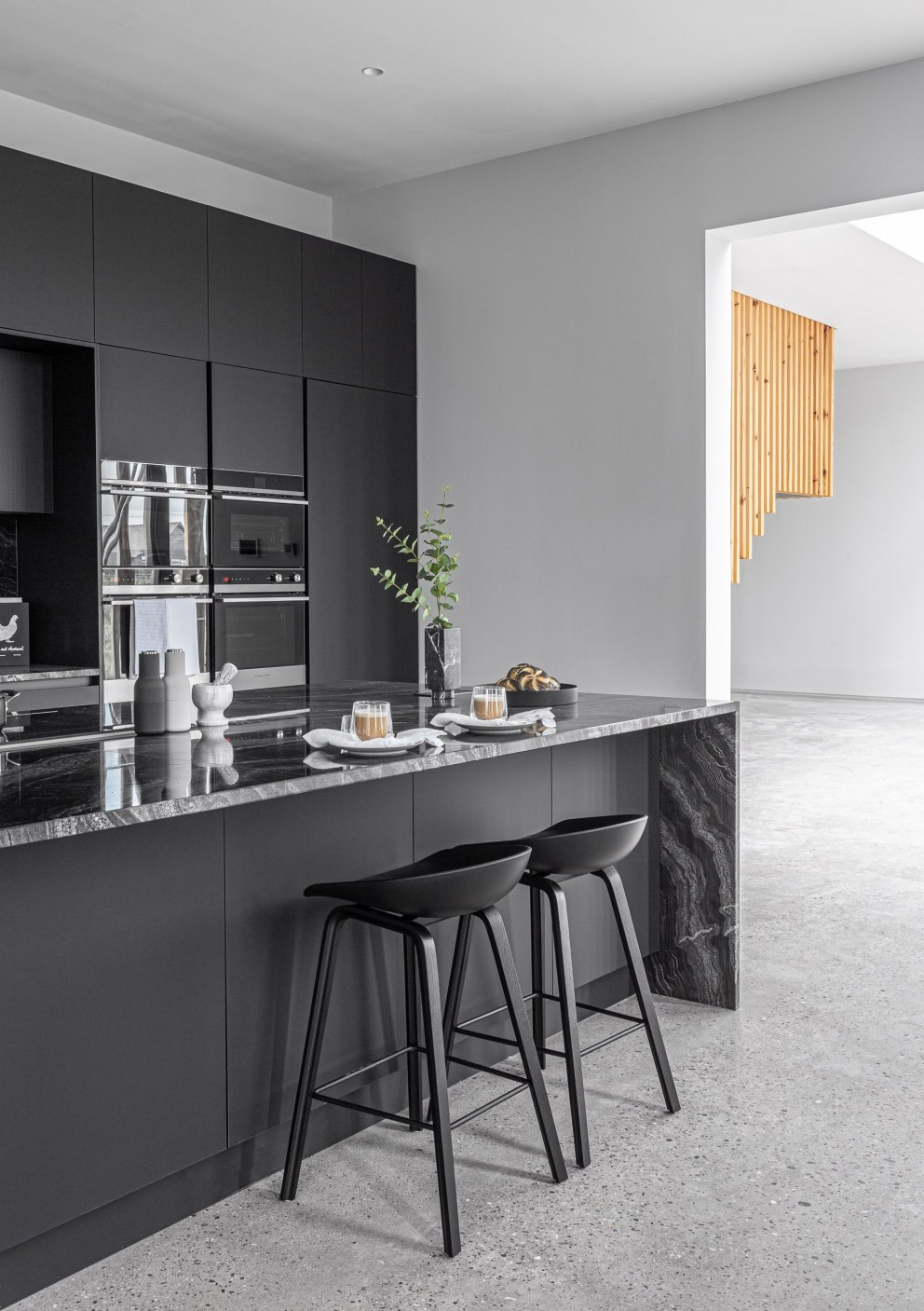 Hedge House | Black Kitchen | Interior Designers