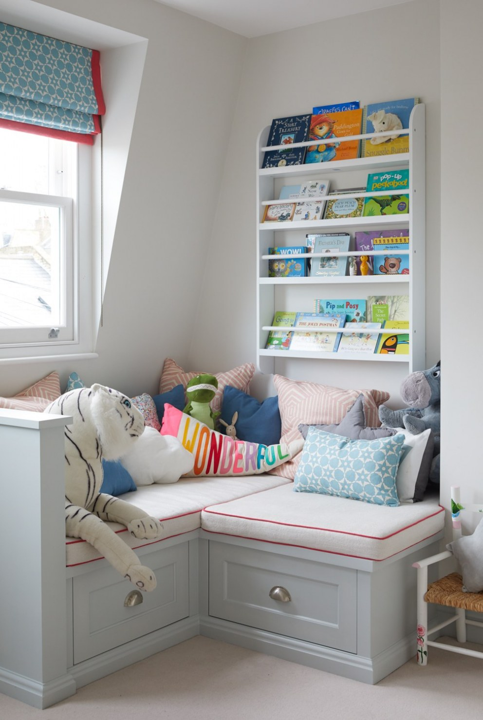 Parsons Green Family Home | Little reading corner | Interior Designers