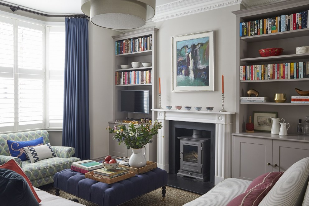 Parsons Green Family Home | Sitting room | Interior Designers