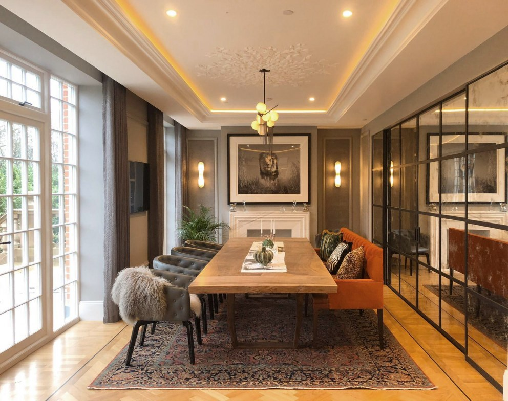 St Peter's Road | Dining area  | Interior Designers