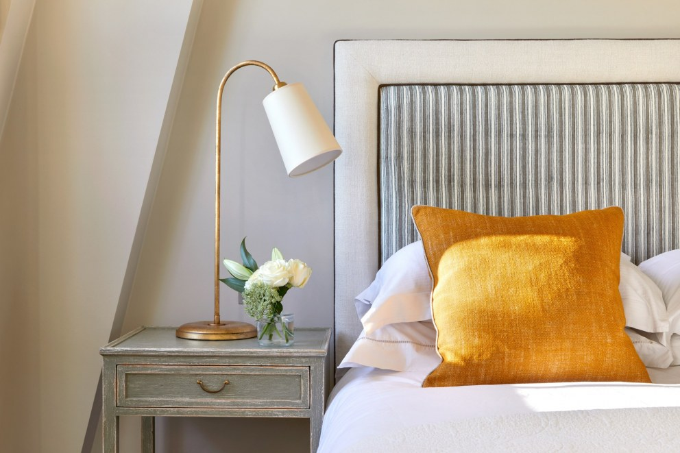 Notting Hill Bachelors Flat | Master Bedroom 2 | Interior Designers