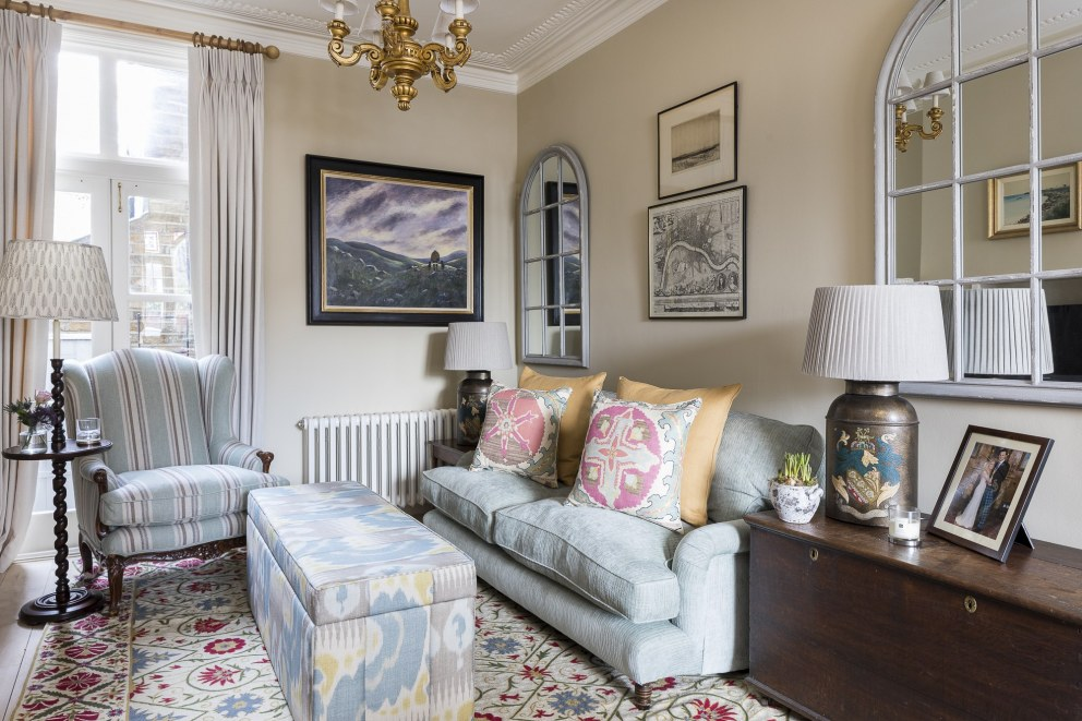 Traditional Fulham Home | Sitting Room 2 | Interior Designers