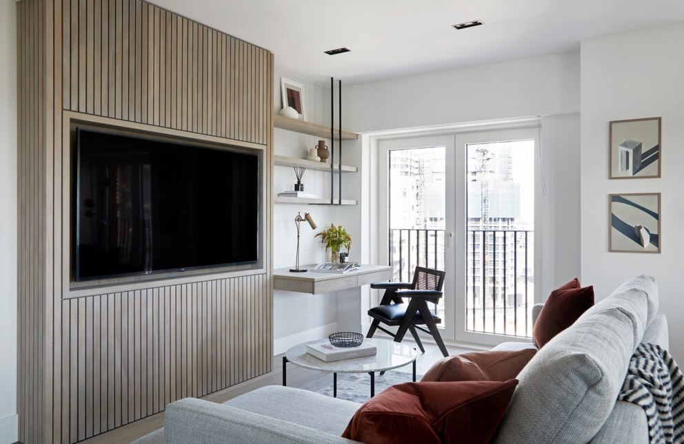 Vauxhall Project  | Living Room  | Interior Designers