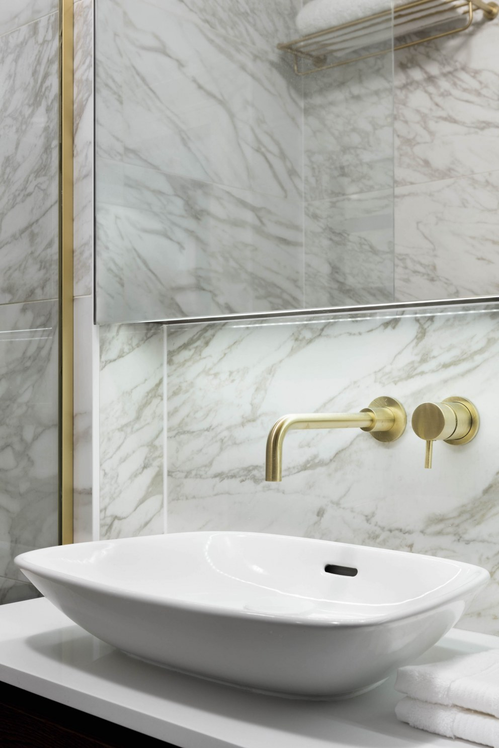 London Pied a terre  | Bathroom Detail | Interior Designers