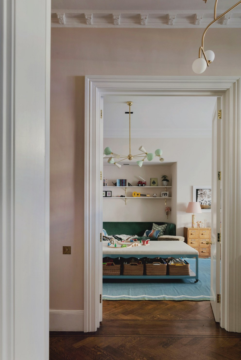 Pembridge Place | View to playroom  | Interior Designers