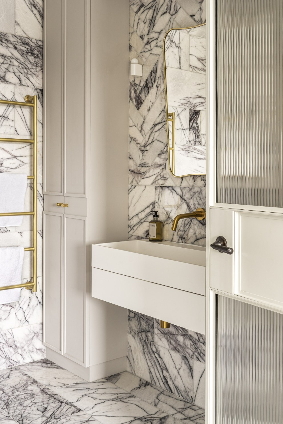 Durrels House, South Kensington | Master ensuite | Interior Designers